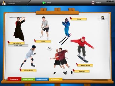 Specjalnie dla wzrokowców - Prezentacje: nauka słów i zwrotów w oparciu o zdjęcia i różne typy ćwiczeń