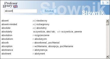 Nowy słownik - obejmuje teraz ponad 12 000 haseł