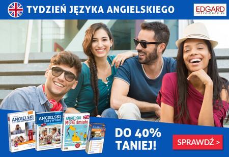 Tydzień języka angielskiego - do 40% taniej!