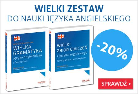 Wielka gramatyka języka angielskiego o 20% taniej!